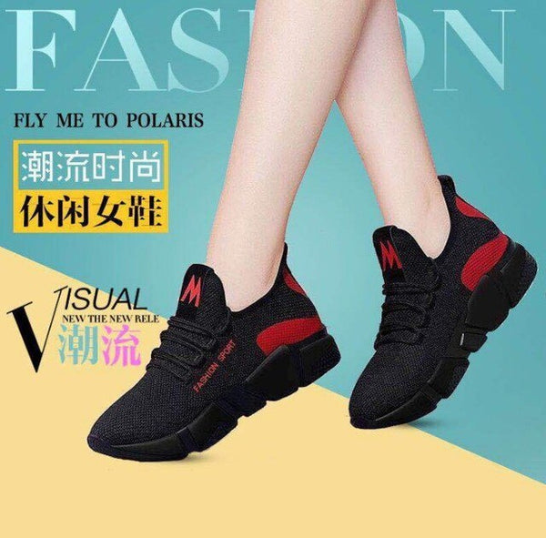 Women Casual Shoes Breathable Mesh Platform Sneakers Women New Fashion Tenis Feminino