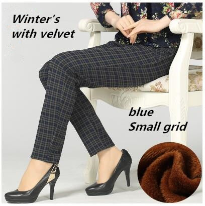 Slim Pants High Waist Stretch Pencil Pants Female Trousers