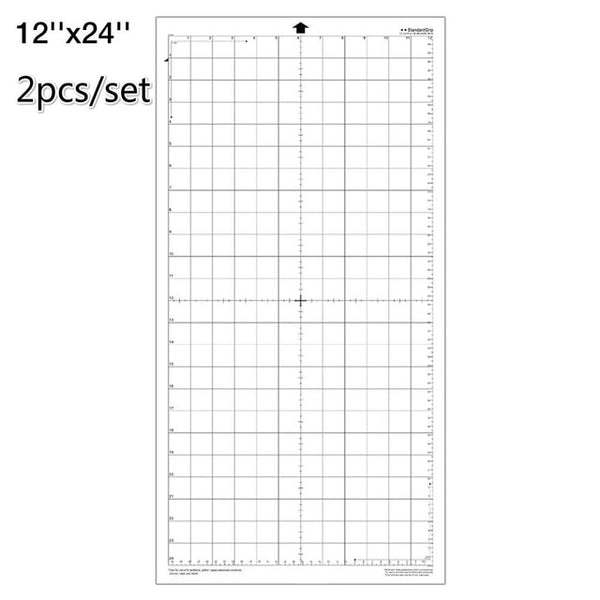 Replacement Cutting Mat Transparent Adhesive Paste Mat Pad With Measuring Grid 12*12-inch