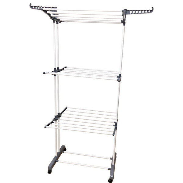 Clothes Hanger Coat Rack Floor Hanger Storage Wardrobe Clothing Drying Racks