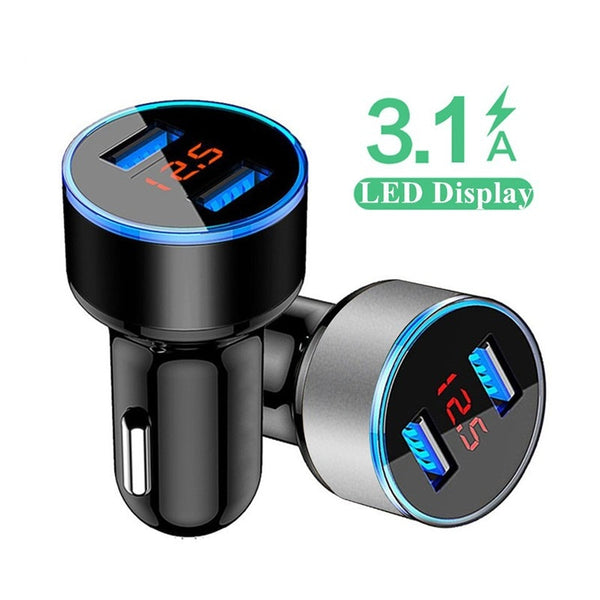 Quick Car Charger For Mobile Phone Universal Dual Usb Adapter For iPhone 11 Pro Max