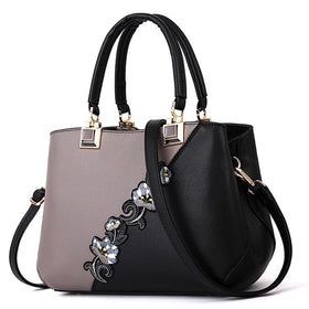 Women Embroidered Messenger Handbags