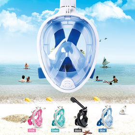 6 Colors Scuba Diving Mask Full Face Snorkeling Mask Underwater Anti Fog