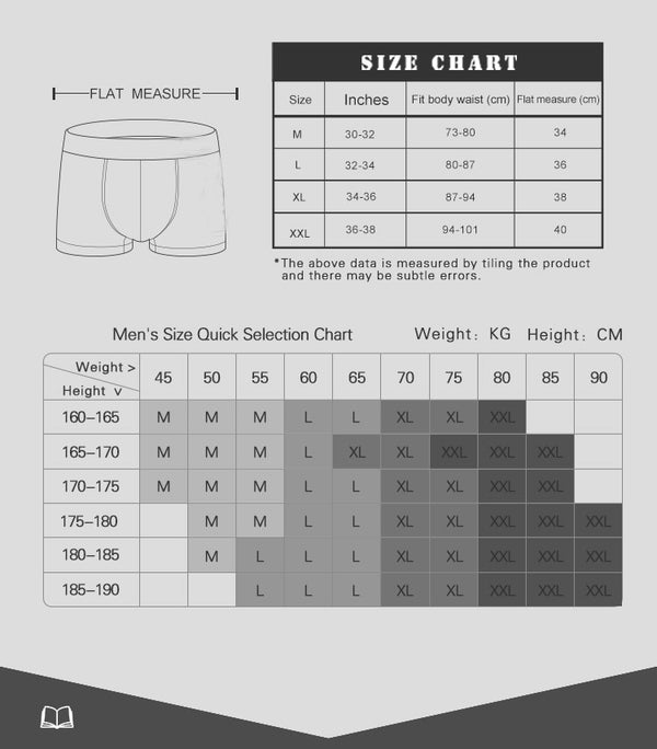 Boxer Short Brand Underwear Male Sexy Cartoon Mens Underpants Breathable