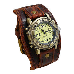 Classic Mens Punk Retro Watches Automatic Mechanical Watch