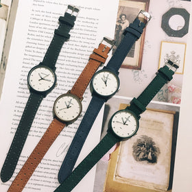 Casual Fashion Leather Watch