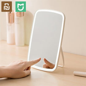 Intelligent Portable Makeup Mirror Desktop Led Light Foldaway