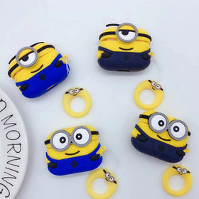3D Minions Earphone Case for AirPods Pro Case
