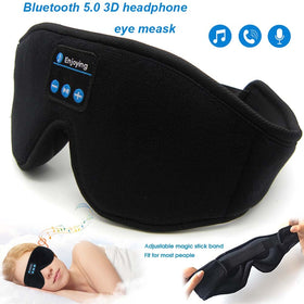 Bluetooth 5.0 Wireless Stereo Earphone 3D Sleep Mask Headband