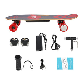 3-Speed Electric Skateboard Lithium Battery Powered with Remote Controller Electric Scooter