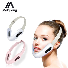 V Face Massager Facial Lifting Face Slimming Double Chin Reducer LED Photon Light Therapy