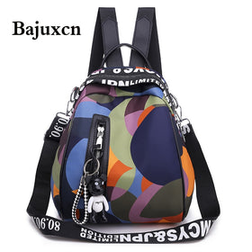 New Multifunction Backpack Women Waterproof Anti Theft