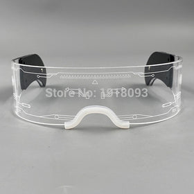 Fashion Cool LED Glasses Luminous Neon Light up Glasses Glowing
