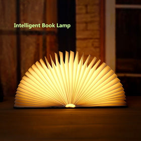 Rechargeable Magnetic Colorful Foldable Desk Lamp Night Light USB LED
