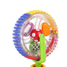 Baby Rattle Toy Ferris Wheel Tricolor Windmill Toys Rotating 6-12 Month Baby