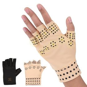 Magnetic Compression Gloves Cost-effective Massage Therapy Support Gloves Arthritis Pressure
