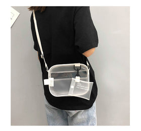Transparent Clear Women Crossbody Bags Shoulder Bag Handbag