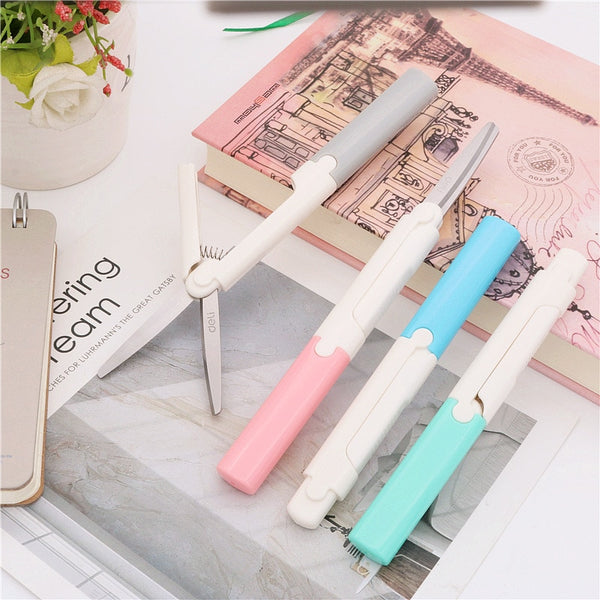 New style Scissors Portable Stationery Scissors Office