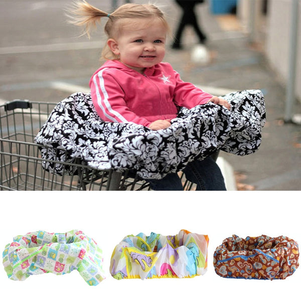 Fashion Infant supermarket shopping cart cover baby seat Pad anti-dirty cover Kids Traveling Seat