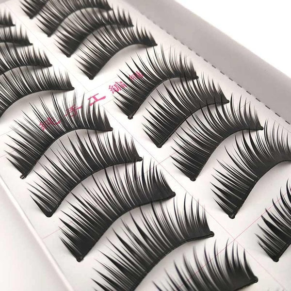 New 5 styles 10 pairs false eyelashes makeup beauty eyelash extension natural Fake Eyelashes