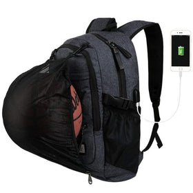 USB interface Smart Basketball Backpack Large Capacity Waterproof