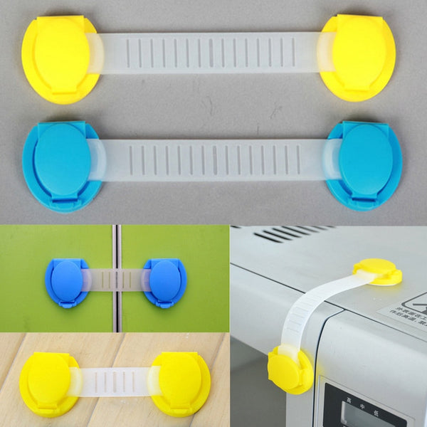 10pcs/pack Children Protective Locks Baby Safety Door lock
