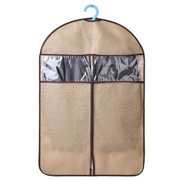 Household Three-dimensional Coat fur Clothes Dust Cover Long DownJacket Suede Dust Clothing Storage Bag