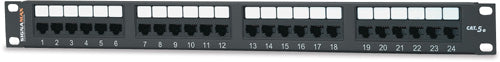 "Signamax, Patch Panel, MD Series, C5e, 12-Port, 1.75/""-High"