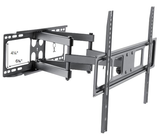 "Sonora, Articulating Wall TV Bracket,  Double Arm Three Pivot Points, 37""+"