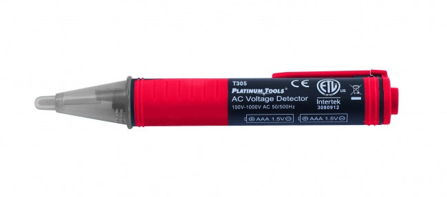 Platinum, AC Voltage Detector. Clamshell