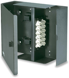 Signamax, Wall Mount Optical Fiber Enclosures with Access Door 2-Module