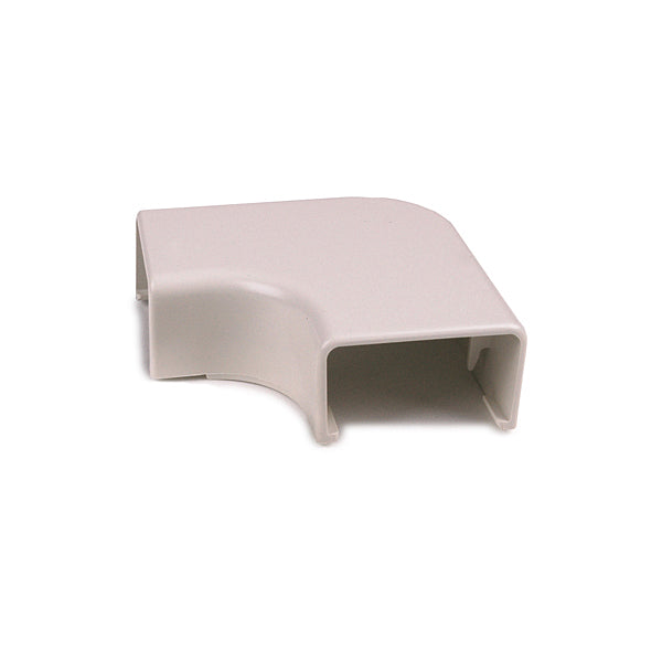 "HellermannTyton RaceWay Elbow Cover 1 3/4/"" with 1/"" bend radius  - White"