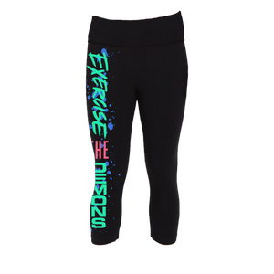 Exercise The Demons Leggings