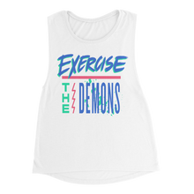 Load image into Gallery viewer, Exercise The Demons Women's Tank