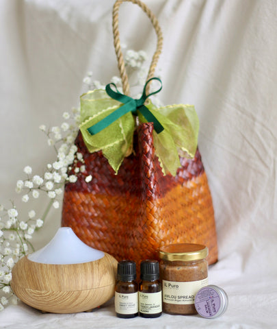 Essential oil + Diffuser Mother's Day giftset