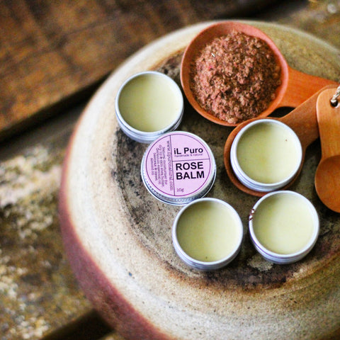 Rose essential oil Balm