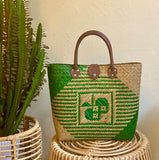 Setiu handwoven tote bag (short handle)