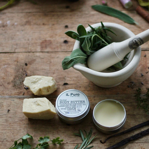 Organic Herbal Body Butter