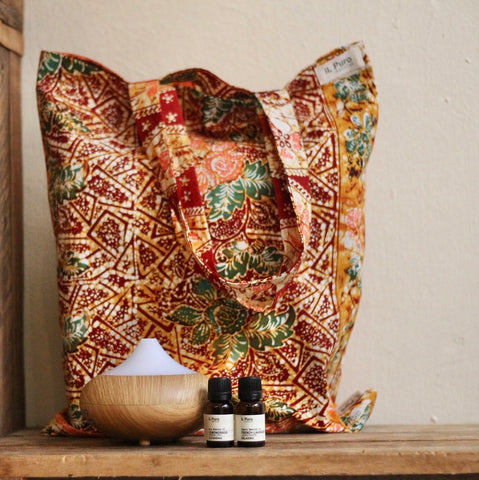 Ultrasonic Diffuser + Essential oil set (S)