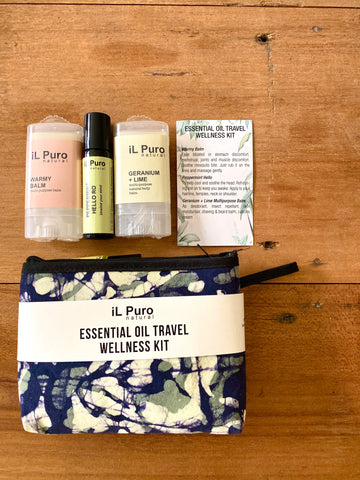 Essential Travel Wellness Kit