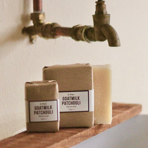 Goatmilk patchouli soap