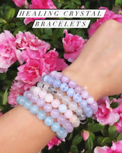 Load image into Gallery viewer, Blue Lace Agate Healing Bracelet