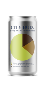 City Boiz - a very mixed fermentation (5.5% ABV)