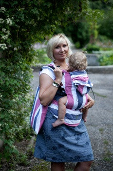 Lenny Lamb Ergonomic Baby Carrier MARINE (Bamboo Blend)