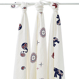 Aden + Anais Bamboo Swaddle- 3 pack