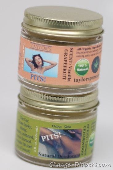 BALM! Baby PITS! Natural Deodorant
