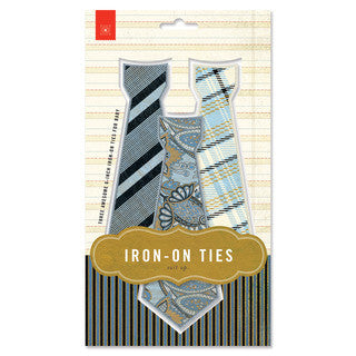 Basicgrey Iron-On Ties