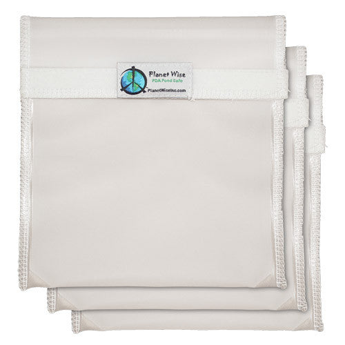 Planet Wise Clear Snack/Sandwich Bags-Clear