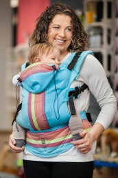 Lenny Lamb Ergonomic Baby Carrier CORFU (Bamboo Blend)