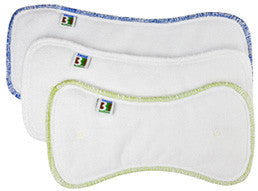 Best Bottom Hemp/Organic Cotton Diaper Insert 3-Pack